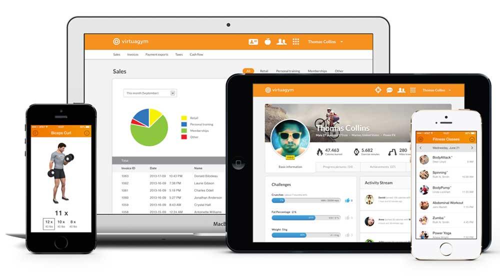 Virtuagym Professional Coaching and Management Software