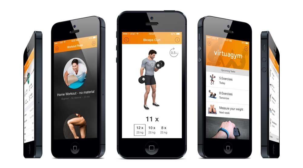 Virtuagym Fitness & Exercise Mobile App